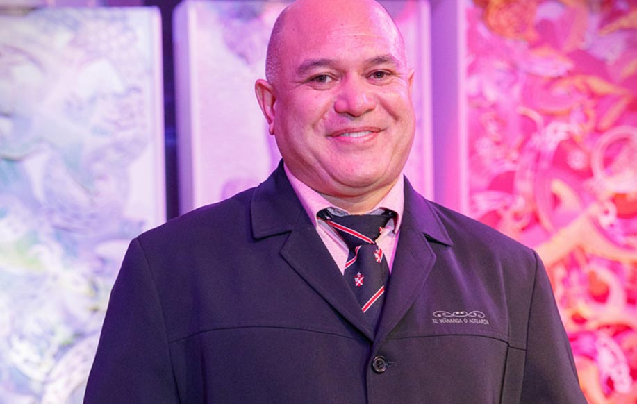Tama Ariki-Biddle: 2018 ACE Aotearoa Annual Award for Educator of the Year Tangata Whenua