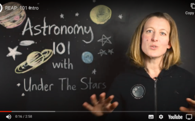 Bringing astronomy to life under Covid-19 Level 4